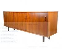 Mid Century Modern Teak Wood Credenza Teak Sideboard Buffet Midcentury Credenza Modern