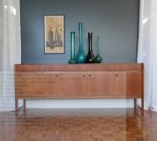 McINTOSH vintage 7ft SOLID TEAK sideboard buffet room divider retro danish era