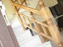 Imported Teak Wooden Stair Railings