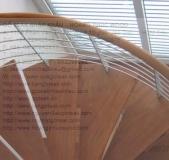 Teak Wood Stair (Assuming Snake)