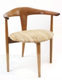 Sculpted Teak Dining Chairs