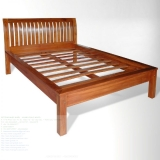 KINASIH Thick bars headboard bed