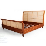 Bed Teak 003 Bed Classic French