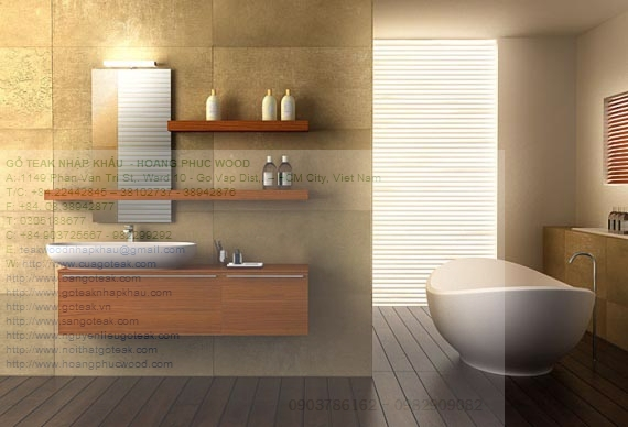 Teak Bathroom Furniture For Wood Touch