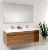 Teak bathroom furniture