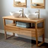 Teak Bathroom Vanity