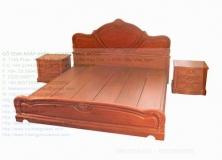 Teak Bed