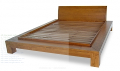 Bed Teak 014 Bed Classic French