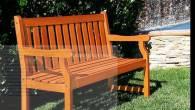 Ghế dài ngoài trời gỗ Teak (Giả tỵ)