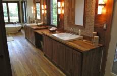 Cầu thang gỗ Giả Tỵ (Teak Wood), Bàn, ghế, Tủ các loại, sàn