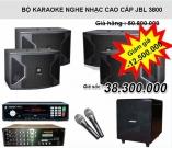 Bộ Karaoke nghe nhạc cao cấp bán chạy JBL 3800
