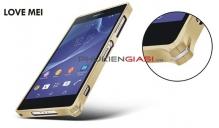 Ốp viền kim loại Sony Xperia Z2 Love Mei