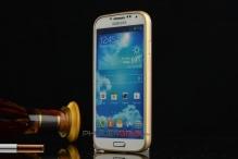 Ốp viền Galaxy S5 bo tròn kẻ chỉ vàng