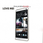 Ốp viền nhôm HTC One Max Love Mei