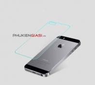 Miếng dán cường lực iPhone 5/ 5S mặt sau bo cạnh