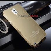 Ốp lưng nhôm Galaxy Note 3 KXX chấm bi - tặng kèm cáp OTG