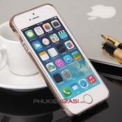 Ốp viền iPhone 5 bo tròn gài đầu