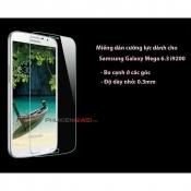 Miếng dán cường lực Galaxy Mega 6.3 bo cạnh