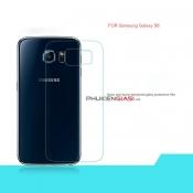 Miếng dán cường lực Galaxy S6/ S6 Edge mặt sau bo cạnh