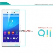 Miếng dán cường lực Sony M4 Aqua Qii bo cạnh
