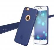 Ốp lưng nhựa dẻo màu hở táo Iphone 5/ 6/ 6plus