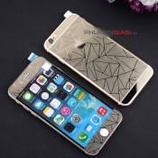 Bô cường lực tráng gương iPhone 5/ 6/ 6plus 3D kim cương
