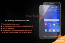 Miếng dán cường lực Galaxy Core 2 G355 bo cạnh