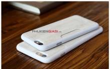 Ốp lưng giả gỗ nhét thẻ tín dụng Rock iPhone 6Plus