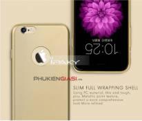 Ốp lưng iPaky nhựa mướt giả da iPhone 6/ 6S/ 6 Plus/ 6S Plus