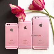 Ốp lưng giả Iphone 6s Hồng Rose Gold cho Iphone 6