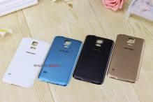 Nắp pin giả da Samsung Galaxy s5 loại 1