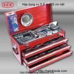 Hộp dụng cụ S.E.K 120 chi tiết