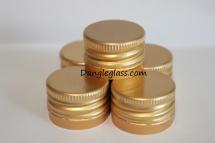 Nắp nhôm ( 28x18 ) vàng