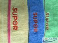 Khăn thêu Logo Supor