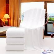 Khăn cotton 90x180cm 750gr dùng cho spa.