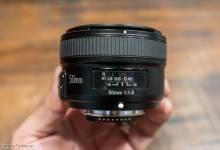 Trên tay ống kính Yongnuo 50mm f/1.8 cho Nikon ngàm F