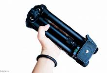 Trên tay chân máy ảnh Velbon TR 563D: Rất gọn, chắc chắn, thích hợp cho người chụp macro