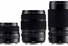 Fujifilm công bố 3 ống kính cho máy ảnh Medium Format Fujifilm GFX 50S