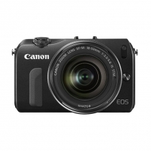 Canon EOS M Kit EF-M 18-55 IS STM + Adapter