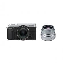 Fujifilm X-E2S Kit 18-55mm + Lens 35mm F2 Silver - Chính hãng