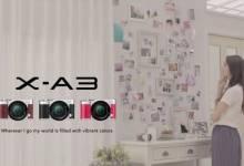 Selfie cực chất cùng Fujifilm X-A3