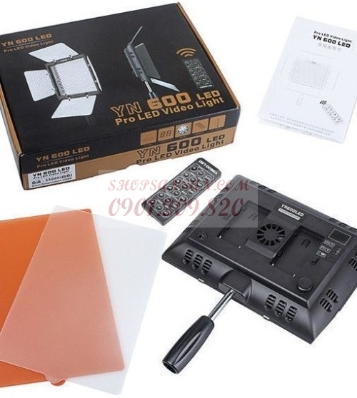 Yongnuo YN-600 II LED Video Light 3200K- 5500K  - SANSAN