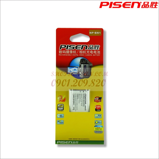 PIN SẠC PISEN FOR SONY BN1