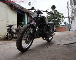 honda cb125t up classic bike