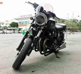 Xe môtô Honda CB1100 độ 20 triệu đồng về Hải Phòng đón Tết