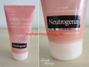 Gel Rửa Mặt VISIBLY CLEAR PAMPLEMOUSSE ROSE NEUTROGENA (Mỹ)