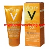 Kem Chống Nắng VICHY Capital Soleil Mattifying Face Fluid Dry Touch SPF50 (Pháp)