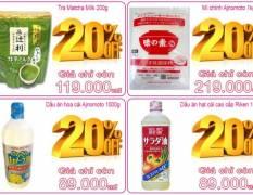 Khuyến mại giá sốc tháng 07 năm 2016