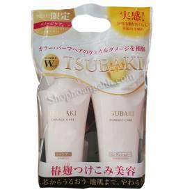 Sét (bộ) dầu gội TSUBAKI Japan (trắng)