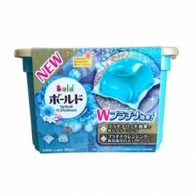 Hộp viên giặt Gel Ball 18v màu xanh